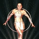 Hula-Hoop-show