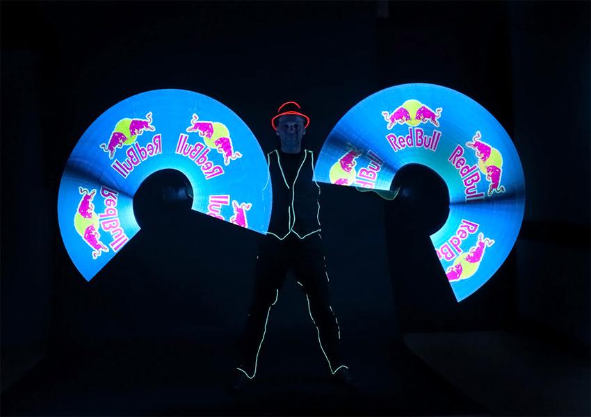LED Show mit Volker Maria Maier